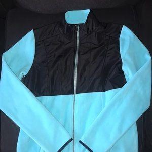 Tiffany blue jacket